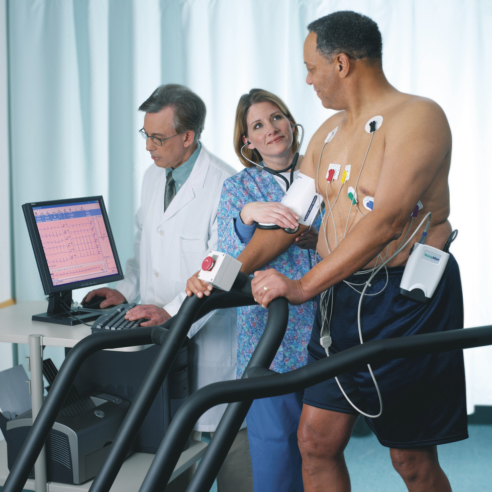 Stress Test Treadmill: Stress Tests In Diagnosis Of Heart Disease