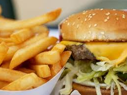 unhealthy fast food